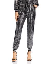 Pam & Gela Mirror Ball Jogger Pants - Metallic