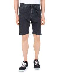 The Kooples - Destroy Denim Shorts - Lyst