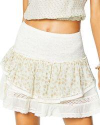 Ramy Brook Embellished Arius Skirt Swim Cover - Up - White
