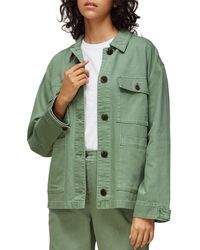 Whistles Ultimate Utility Jacket - Green