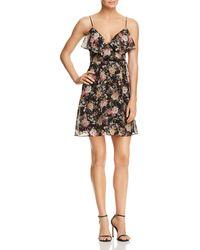 Bailey 44 - Object Of Desire Floral Print Faux-wrap Dress - Lyst