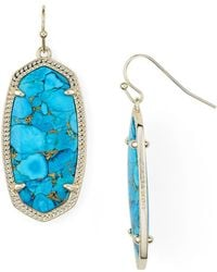 Kendra Scott - Magnesite Elle Earrings - Lyst