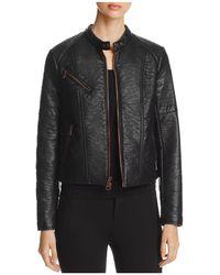 Marc New York - Vivian Moto Jacket - Lyst