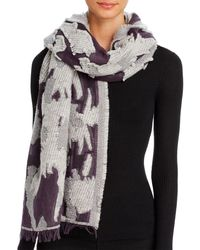 Echo Cutback Textured Scarf - Multicolour