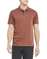 Theory Standard Tipped Regular Fit Polo Shirt - Multicolor