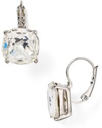 Kate Spade - Square Leverback Earrings - Lyst