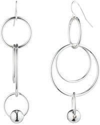 Ralph Lauren - Lauren Orbital Linear Statement Earrings - Lyst