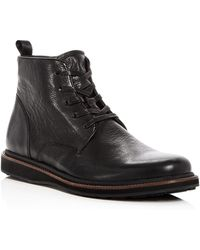 John Varvatos - Men's Brooklyn Lug Leather Lace Up Boots - Lyst