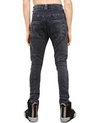 Thom Krom Stretch Denim Skinny Jeans - Multicolor
