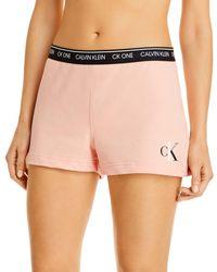 Calvin Klein Ck One Sleep Shorts - Multicolor