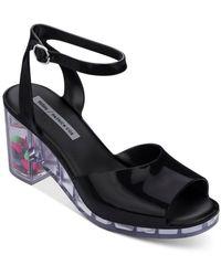 Melissa X Patrick Cox Women's Platform Sandals - Black
