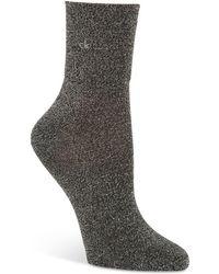 Calvin Klein - Glitter Ankle Socks - Lyst