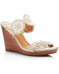 Jack Rogers - Luccia Wedge Sandals - Lyst