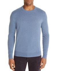 Bloomingdale's Cashmere Crewneck Sweater - Blue