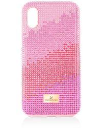 Swarovski High Love Iphone Case - Pink