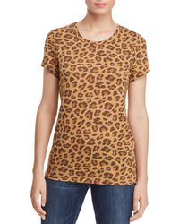 Alternative Apparel - Ideal Leopard Print Tee - Lyst