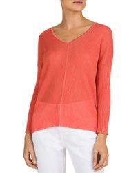 Gerard Darel - Long - Sleeve V - Neck Knit Sweater - Lyst