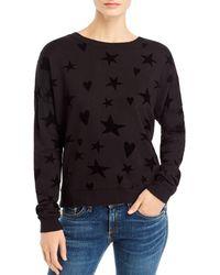 Rails - Marlo Flocked Sweatshirt - Lyst