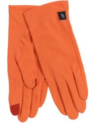 Echo Solid Summer Gloves - Orange