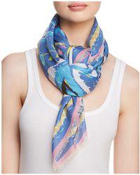 Jane Carr - Fauve Floral Paisley Print Scarf - Lyst
