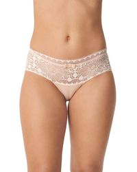 Chantelle Day To Night Lace Hipster - Natural