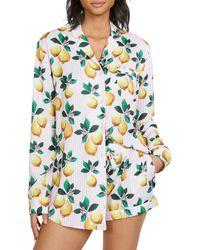 Generation Love Sophie Lemon Pyjama Shorts Set - Blue