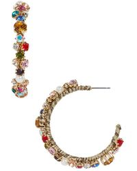 BaubleBar - Elysian Hoop Earrings - Lyst