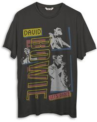 Junk Food David Bowie Let's Dance Tee - Black