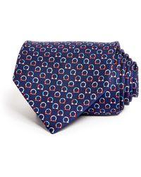 06e119d1ebd0 Ferragamo Ladybug Neat Classic Tie in Blue for Men - Lyst