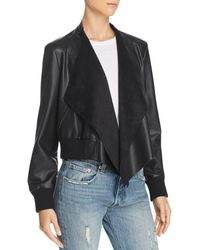 French Connection - Anabelle Faux-leather Jacket - Lyst
