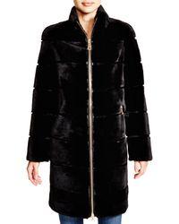 Maximilian - Maximilian Sheared Rabbit Coat - 100% Exclusive - Lyst