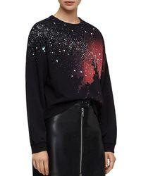 AllSaints - Celestial Tia Sweatshirt - Lyst