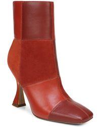 Sam Edelman Women's Olina High Heel Booties - Red