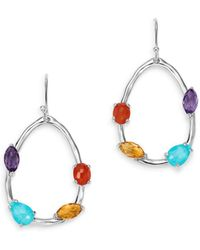 Ippolita - Sterling Silver Rock Candy Turquoise & Clear Quartz Doublet - Lyst