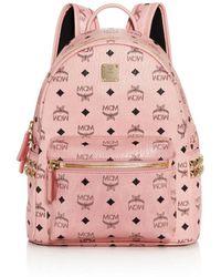 MCM - Stark Side Stud Small Backpack - Lyst