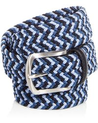 Bloomingdale's - Woven Stretch Belt - Lyst