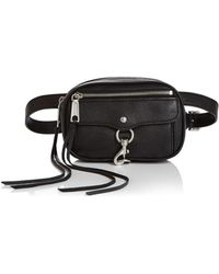Rebecca Minkoff - Blythe Convertible Leather Belt Bag - Lyst