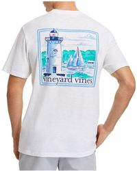 Vineyard Vines - Lighthouse Graphic Tee - Lyst