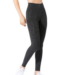 WEAR IT TO HEART Freckled Leggings (63% Off) - Comparable Value $108 - Black