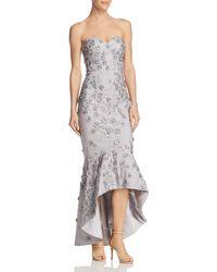 Bariano - Embellished Mermaid Dress - Lyst
