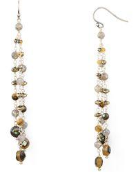 Chan Luu - Beaded Drop Earrings - Lyst