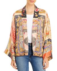 Johnny Was Callaway Reversible Printed Kimono - Multicolour