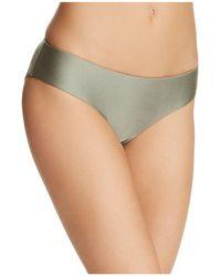 Becca - Ballerina Reversible Bikini Bottom - Lyst