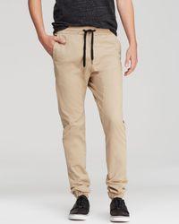 Zanerobe Sureshot Jogger Pants - Natural