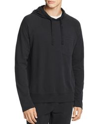 ATM - Hooded Brushed - Fleece Sweatshirt - Lyst