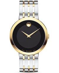 Movado Esperanza Two Tone Watch - Metallic