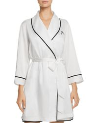 Kate Spade Mrs. Bridal Robe - White