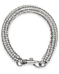 Atelier Swarovski - X Christopher Kane Skinny Single Bolster Bracelet - Lyst