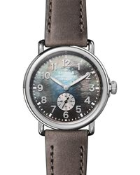 Shinola Runwell Mother - Of - Pearl Dial Watch - Multicolor
