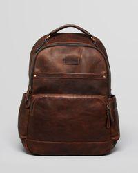Frye - Logan Leather Backpack - Lyst